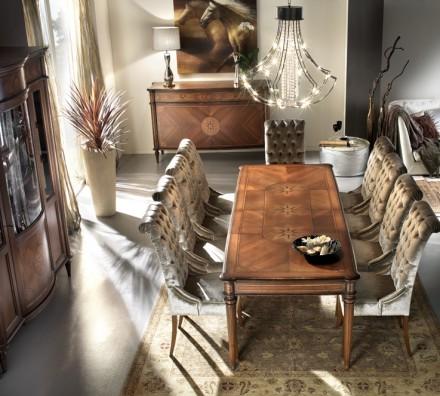 Rectangular dining table GV009